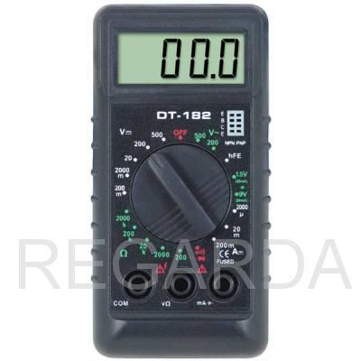 Мультиметр: DT-182