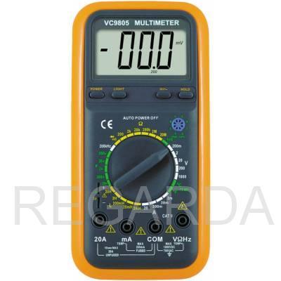 Мультиметр  DT-VC9805