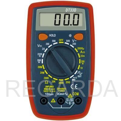Мультиметр  DT-33D
