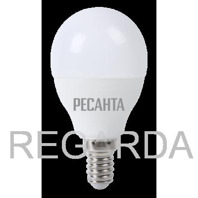 Лампа светодиодная РЕСАНТА  LL-R-G45-7W-230-4K-E14