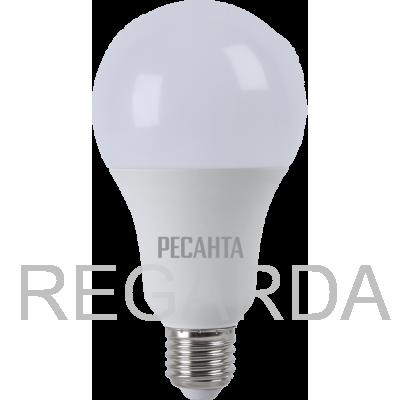 Лампа светодиодная РЕСАНТА  LL-R-A80-20W-230-3K-E27