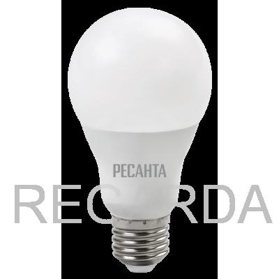 Лампа светодиодная РЕСАНТА  LL-R-A65-15W-230-4K-E27