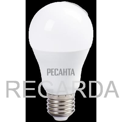 Лампа светодиодная РЕСАНТА  LL-R-A60-13W-230-4K-E27