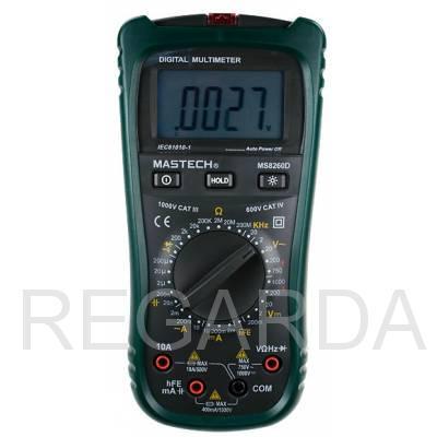 Мультиметр: MS8260D