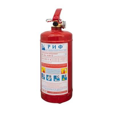 Огнетушители порошковые Завод пожарного оборудования РИФ