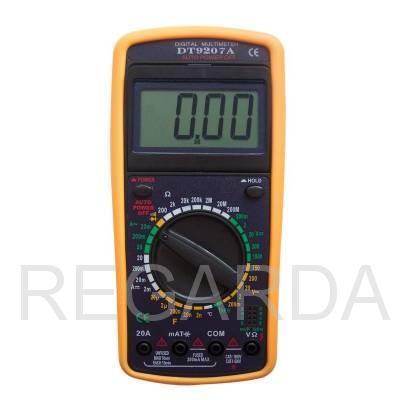 Мультиметр  DT9207