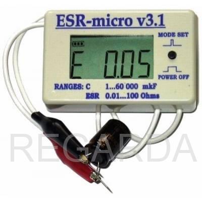 Измеритель емкости  ESR-micro v3.1