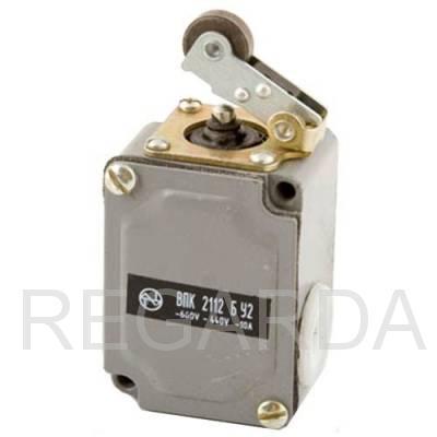 Выключатель путевой  ВПК-2112 БУ2  (рычаг с роликом)