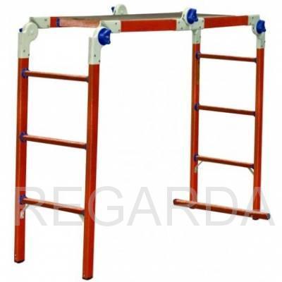 Лестница-стремянка-подмость ЛСПТД-1,5П