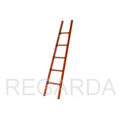 Лестница приставная стеклопластиковая  ЛСПД-2,5 Евро