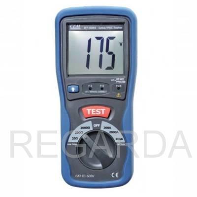 Измеритель сопротивления петли фаза-нуль  DT-5301