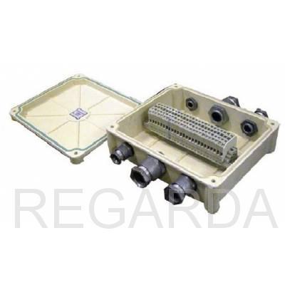 Коробка соединительная: КСП-25 с сальниками IP65