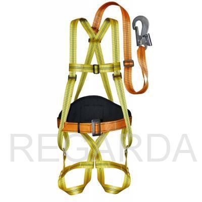Удерживающая привязь: (УП2АЖ) (ПП-2АЖ): (строп пол. лента)