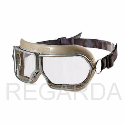 Очки защитные закрытые: с прямой вентиляцией ЗП1 PATRIOT