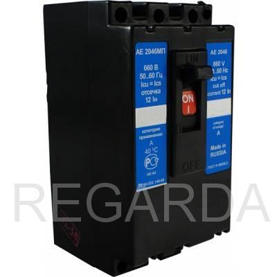 Выключатель автоматический: АЕ 2046МП-100-00 УЗА 50А
