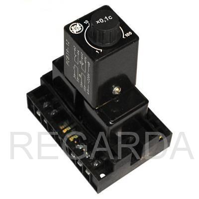 Реле времени: РСВ-19-12 1...100с 220В 50Гц