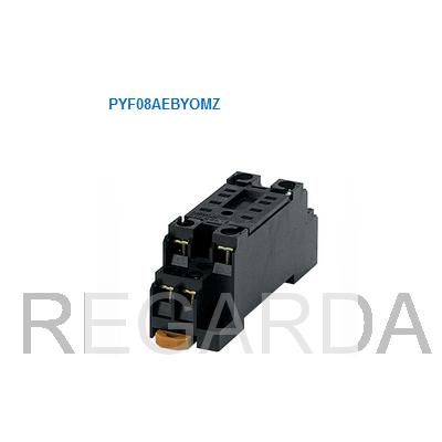 Колодка для реле MY, 8-pin (2 группы контактов), винтовые клеммы OMRON PYF08A-E