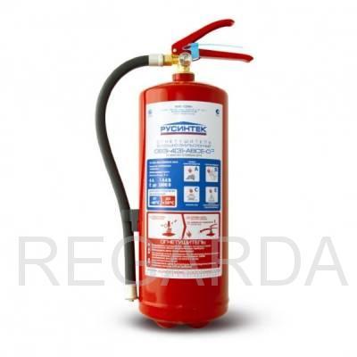 Огнетушитель  ОВЭ-4 (3)-АВСЕ-02