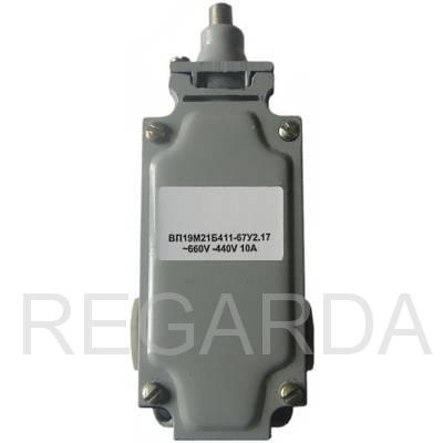 Выключатель путевой  ВП19М21Б411-67У2.17