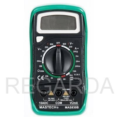 Мультиметр: MAS830B
