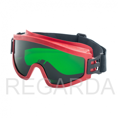 Очки защитные закрытые: с прямой вентиляцией: ЗП2 SUPER PANORAMA (3 CA)