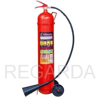 Огнетушитель углекислотный ОУ-10 (Ярпож)