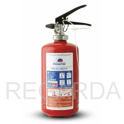 Огнетушитель  ОВЭ-2 (3)-АВCЕ-01