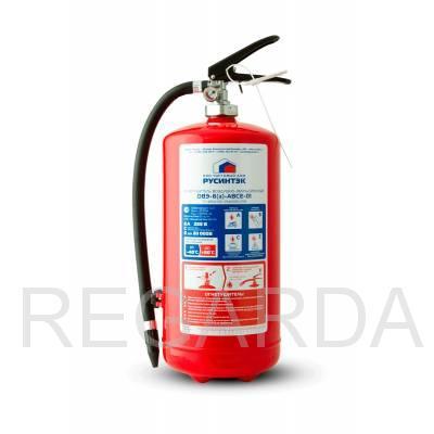 Огнетушитель: ОВЭ-6 (З)-АВCЕ-01