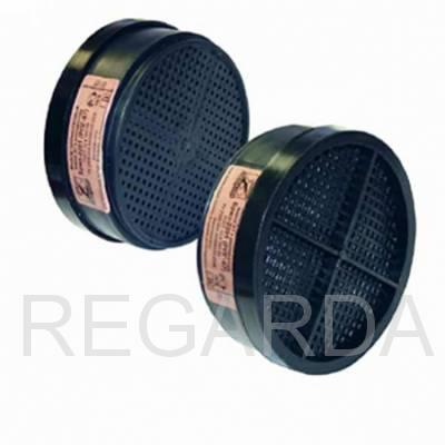 Фильтр к РПГ-67: марка А1В1Е1К1, Е1, К1: (пластиковый корпус)