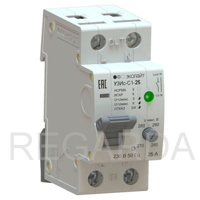 Устройство защиты от искрения EcoEnergy УЗИс-С1 25А