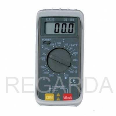 Мультиметр карманный цифровой DT-101