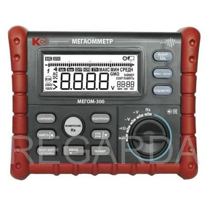 Цифровой мегаомметр МЕГОМ-300