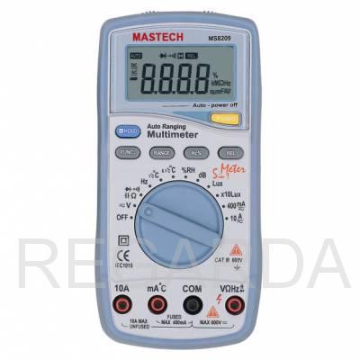 Мультиметр: MS8209