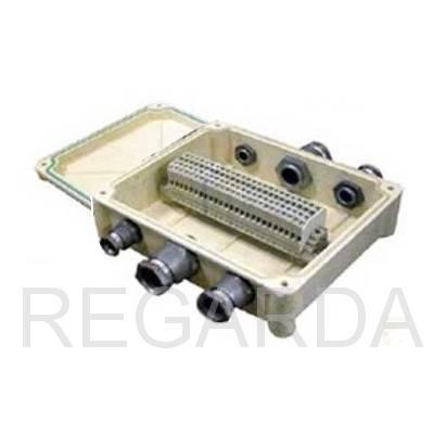 Коробка соединительная: КСП-20 с сальниками IP65