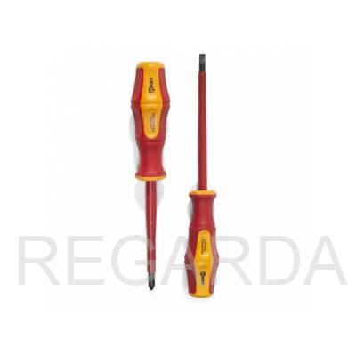 Диэлектрическая отвертка VDE ПРОФИ 5.5х125