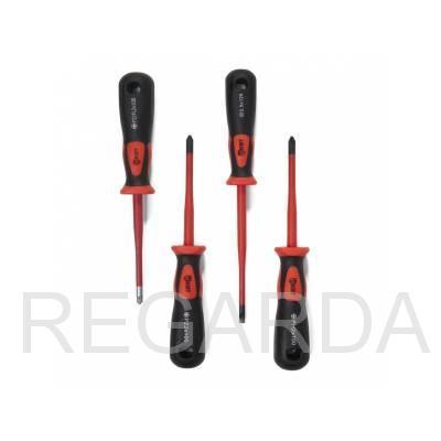 Отвертка диэлектрическая Слим PH1/FL1х80
