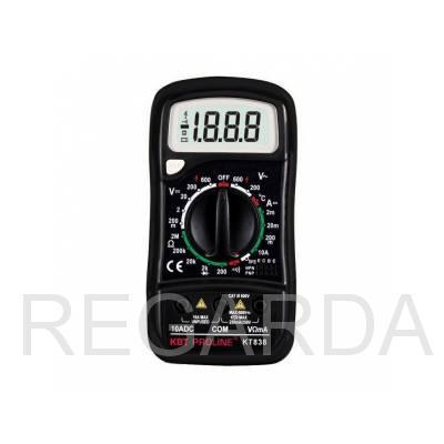 KT 838 Мультиметр цифровой  серия PROLINE