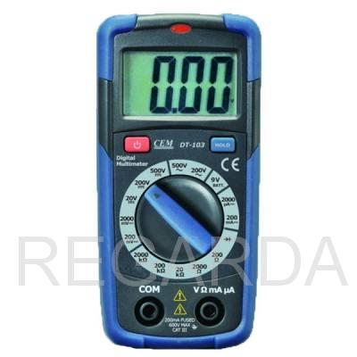 DT-103 Мультиметр цифровой