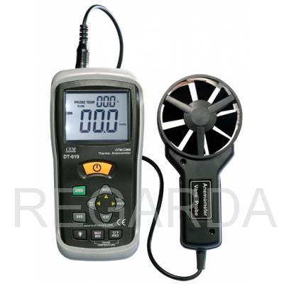 DT-619 Измеритель скорости воздуха и температуры