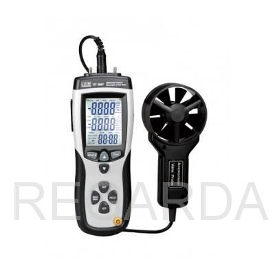 DT-8897 Дифференциальный манометр, анемометр