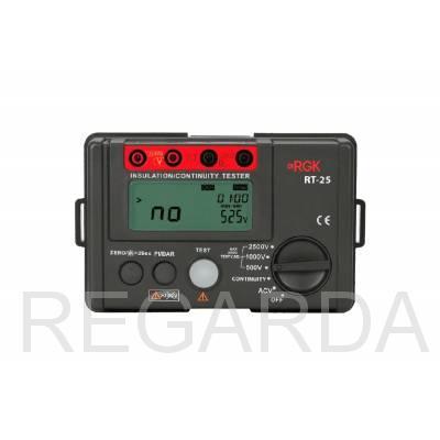 Цифровой мегаомметр RGK RT-25