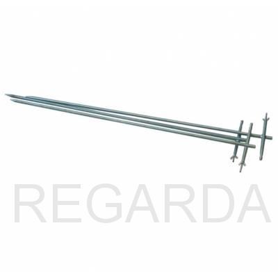 Комплект штырей заземления 1м, нержавеющая сталь