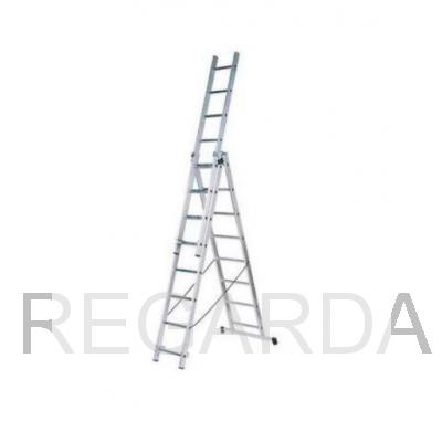 Лестница алюминиевая  ВИХРЬ ЛА 3х8