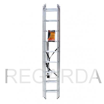 Лестница алюминиевая  Лайт ВИХРЬ ЛА 3х9