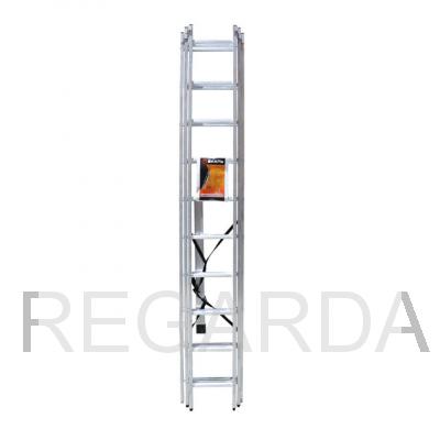 Лестница алюминиевая  Лайт ВИХРЬ ЛА 3х12