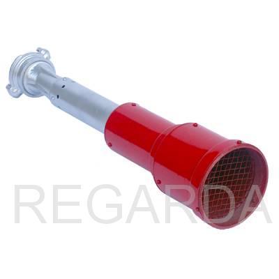 Ствол пожарный водопенный: распылитель СВПР