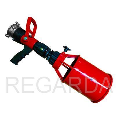 Ствол пожарный ручной: перекрывной СРП-50Р с пенной насадкой