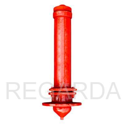 Пожарный гидрант: чугунный Н-0,50 - Н-3,50