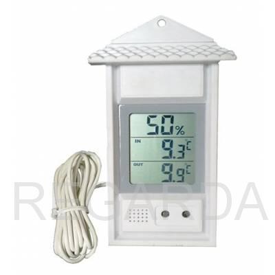 Термогигрометр SH-124B комнатно-уличный с влажностью